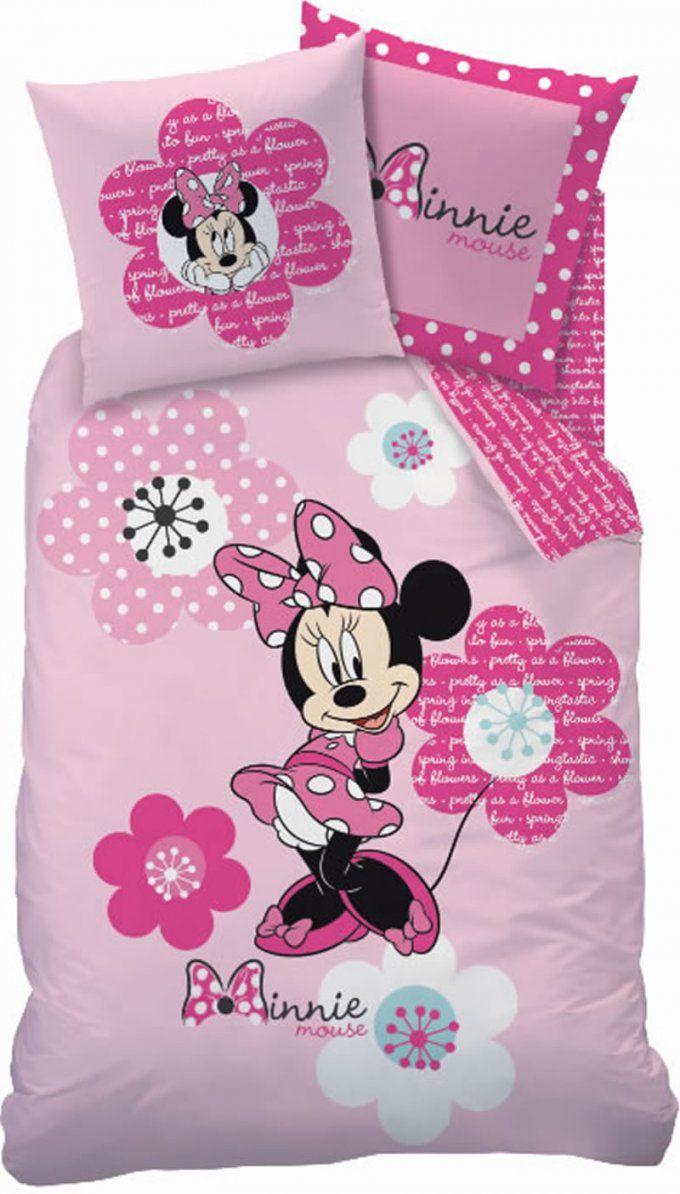 Disney Bettwäsche Minnie Mouse Flowers Bei Papiton Bestellen von Mini Mouse Bettwäsche Bild