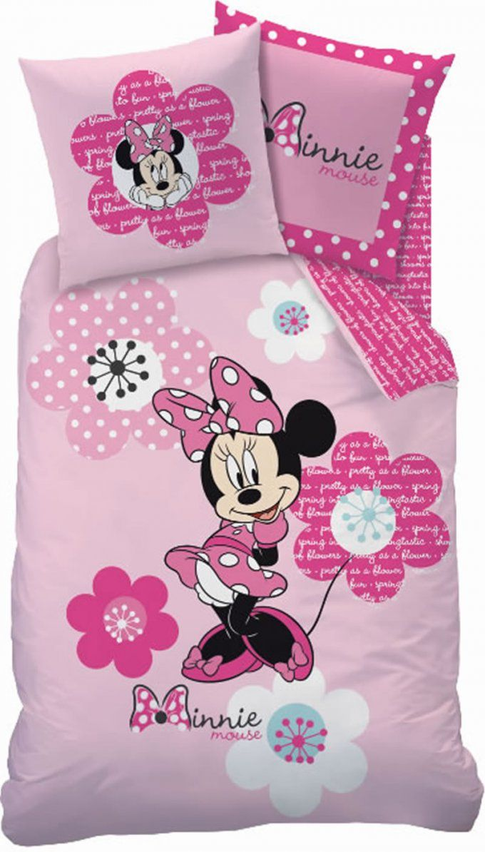 Disney Bettwäsche Minnie Mouse Flowers Bei Papiton Bestellen von Minnie Mouse Bettwäsche Photo