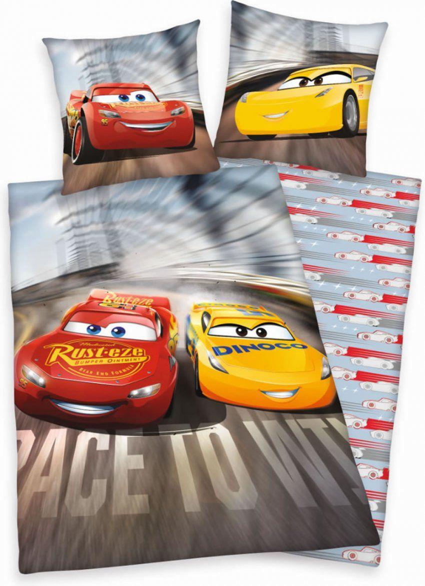 Disney Cars Bed Linen Flanel Race To Win Online At Papiton von Disney Cars Bettwäsche Bild