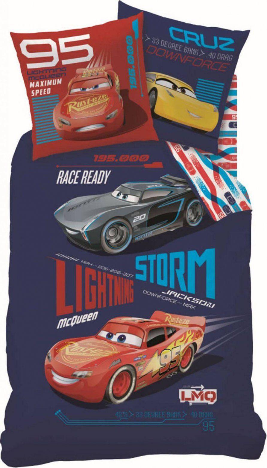 Disney Cars Bettwaesche Sets  Dibinekadar Decoration von Cars Bettwäsche 100X135 Bild