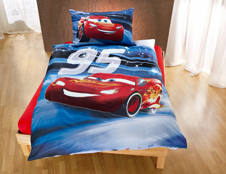 Kinderbettwäsche Cars 3 Wendemotiv 100x135 Cm Kinderbettwäsche Von