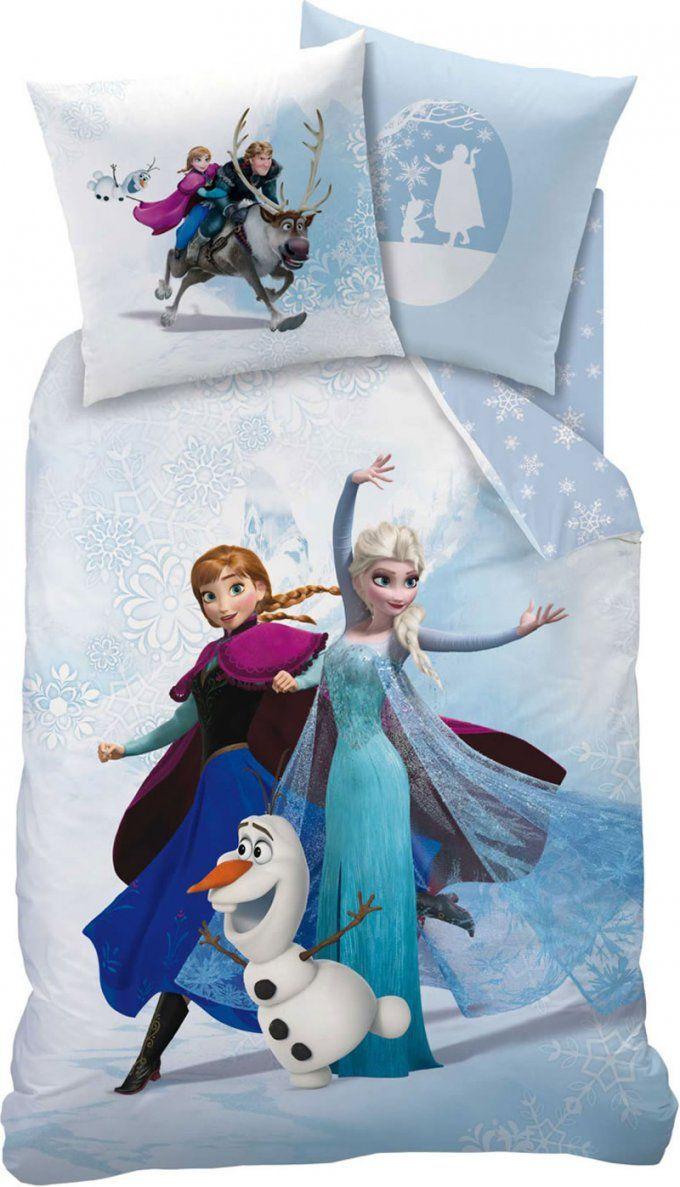Disney Frozen  Die Eiskönigin von Anna Und Elsa Bettwäsche Biber Bild
