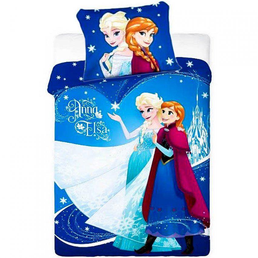 Disney Kinderbettwäsche Die Eiskönigin Anna & Elsa (679) von Kinderbettwäsche Die Eiskönigin Bild