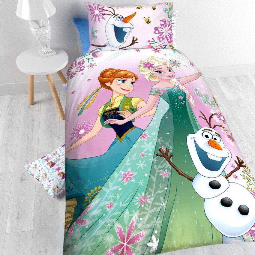Disney Kinderbettwäsche Die Eiskönigin Bettbezug + Kissenbezug (2131) von Kinderbettwäsche Die Eiskönigin Photo