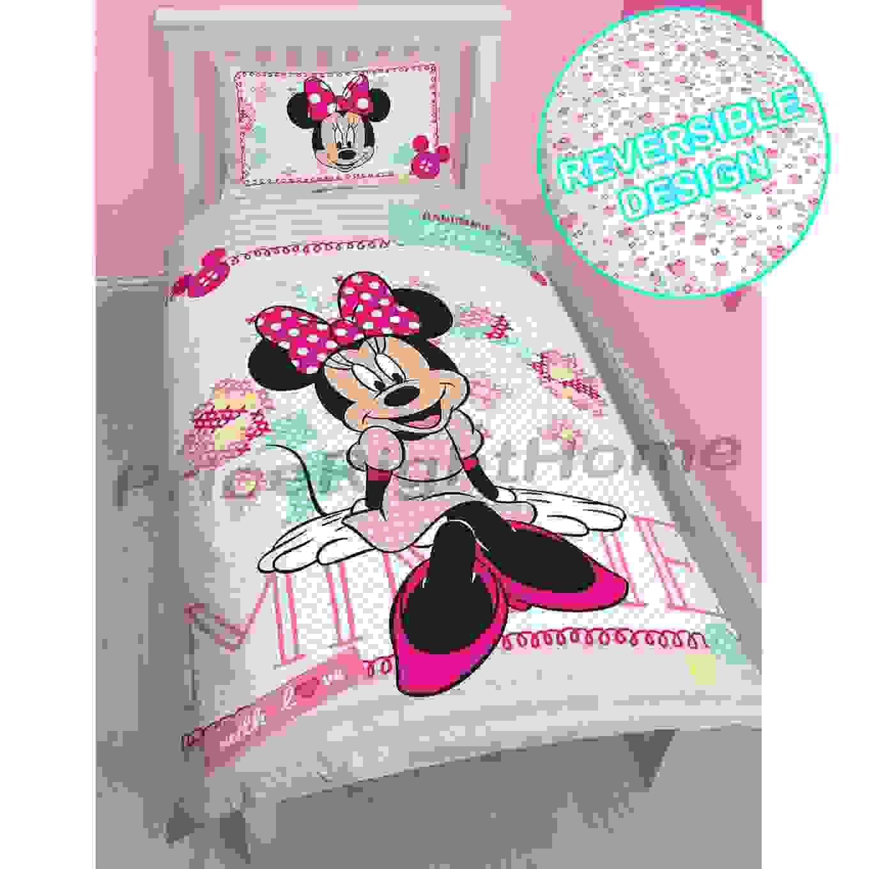 Disney Mickey Oder Minnie Maus Einzeln Junior Bettbezug Sets Kinder von Bettwäsche Minni Maus Photo