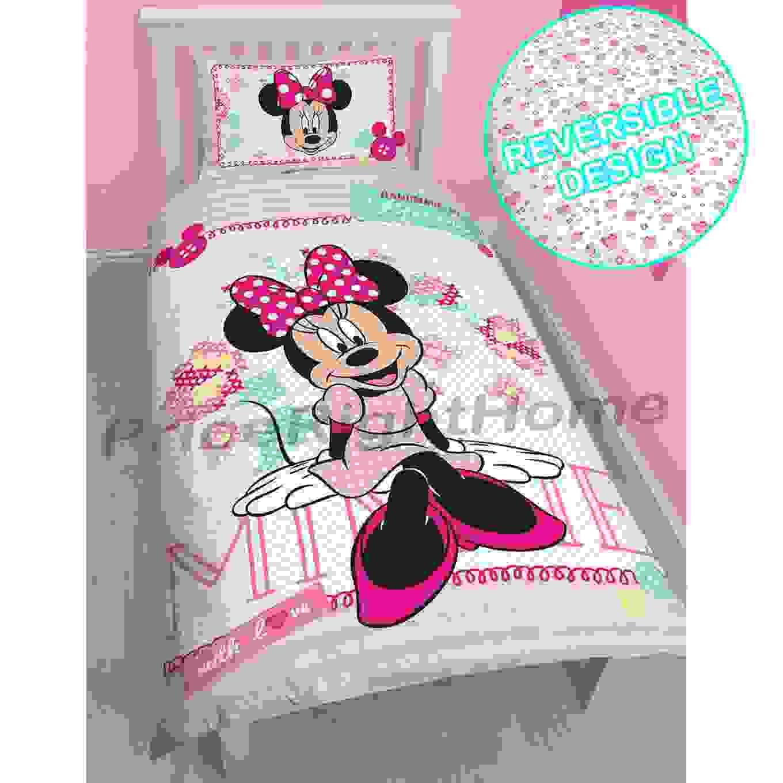Unglaubliche Inspiration Minnie Maus Bettwäsche Und Schöne Mickey