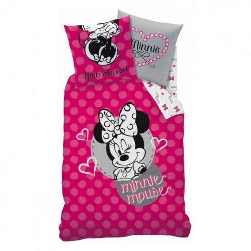 Disney Minnie Mouse Bettwäsche 80 X 80 Cm  135 X  Real von Kinderbettwäsche Minnie Mouse Photo