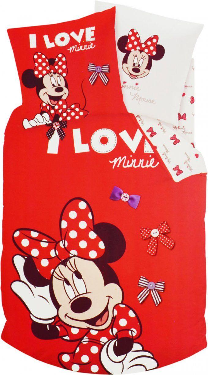 Disney Minnie Mouse Bettwäsche Bei Papiton Bestellen von Mini Maus Bettwäsche Bild
