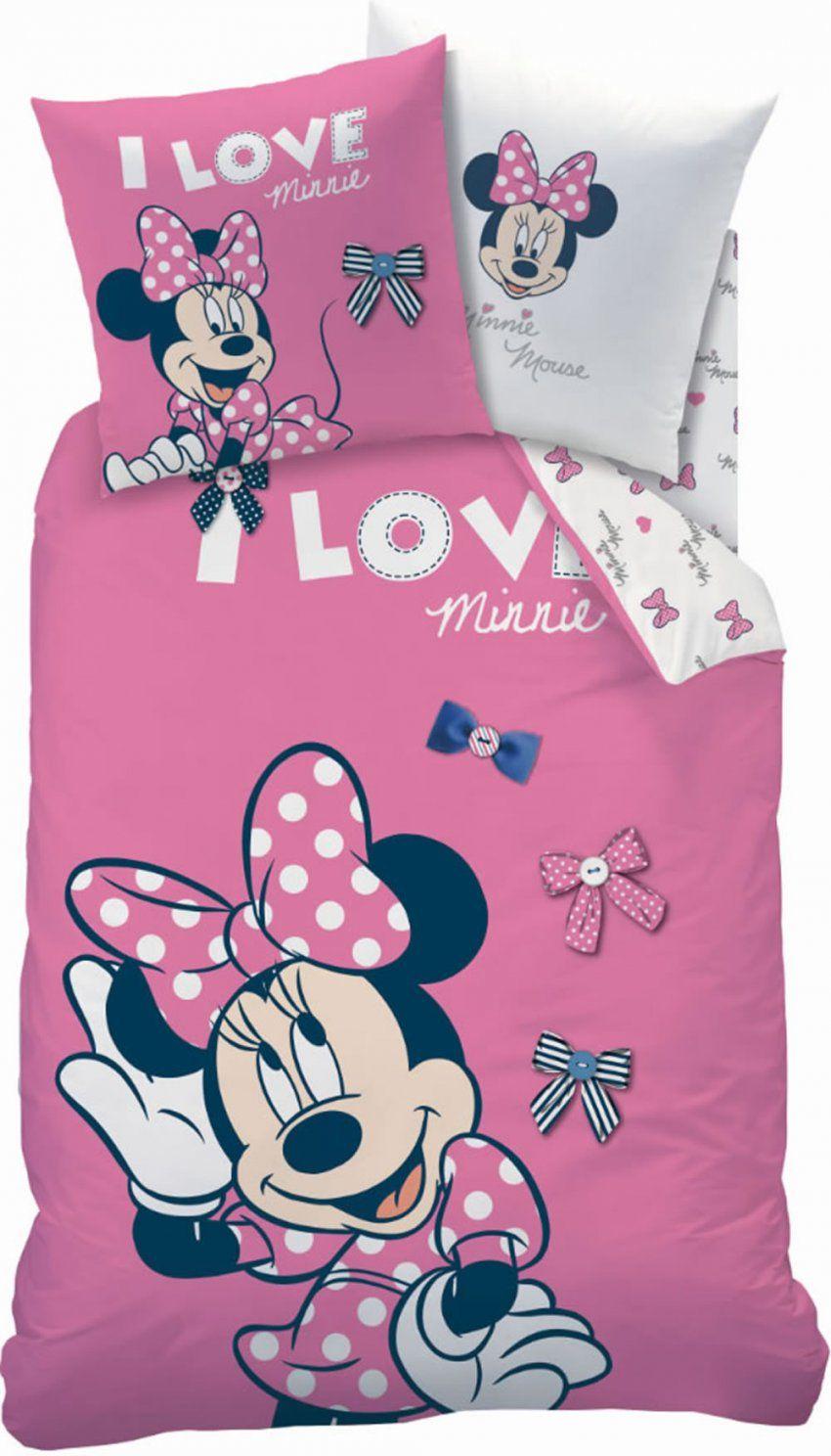 Disney Minnie Mouse Flanellbettwäsche Stylish Rose Bei Papiton von Minnie Mouse Bettwäsche Photo