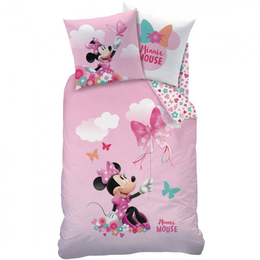 Disney Minnie Mouse Papillon  Bettwäsche  Einzel  140 X 200 Cm von Mini Mouse Bettwäsche Photo