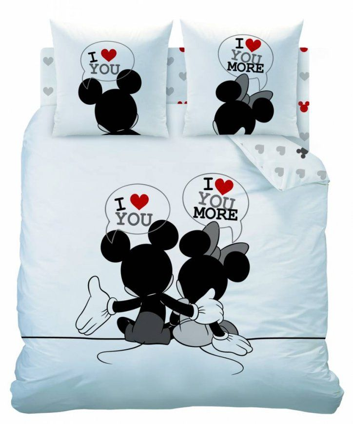 Disney Minnie Mouse The End  Duvet  Doppel  200 X 200 Cm  Weiß von Mickey Mouse Bettwäsche 200X200 Bild