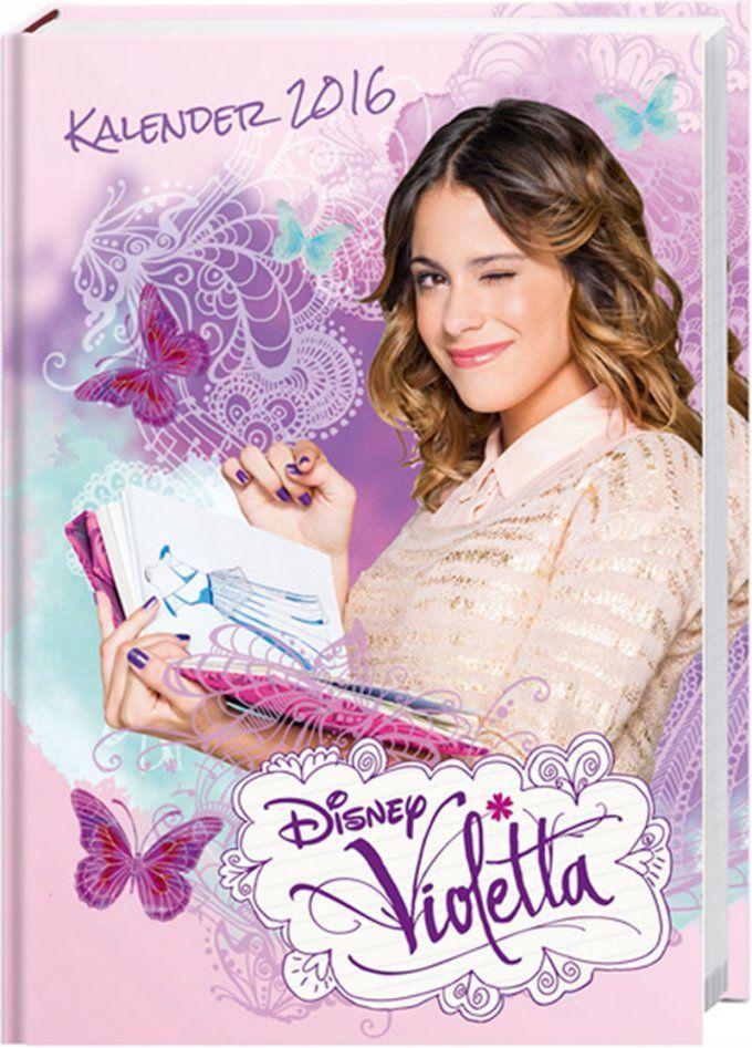 Disney Violetta Calendrier  Version Allemande von Violetta Bettwäsche Biber Bild