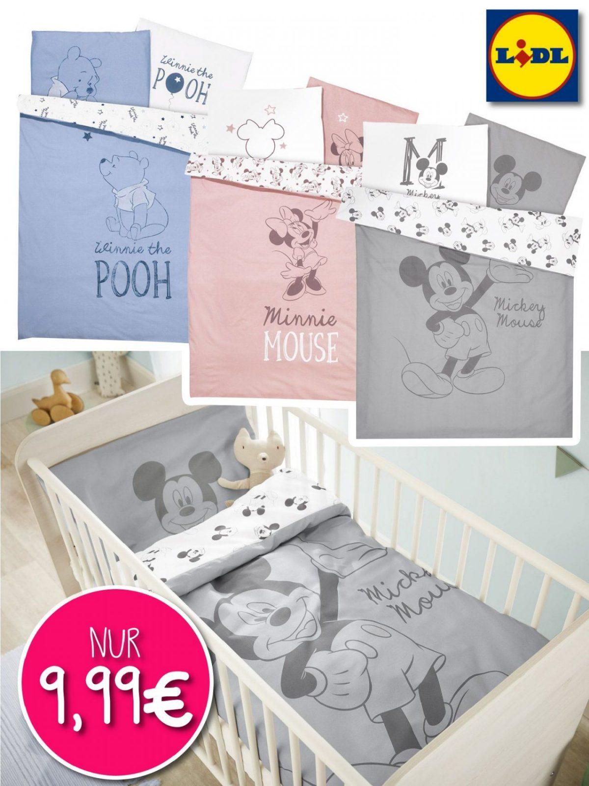 Disneybettwäsche Bei Lidl  Nur Online  Meinbaby123 von Mickey Mouse Bettwäsche Lidl Bild