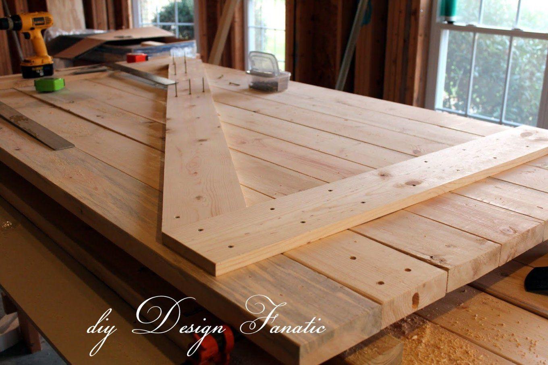Diy Barn Doors  Türen Küche Industrial Und Hütten von Möbel Türen Selber Bauen Photo