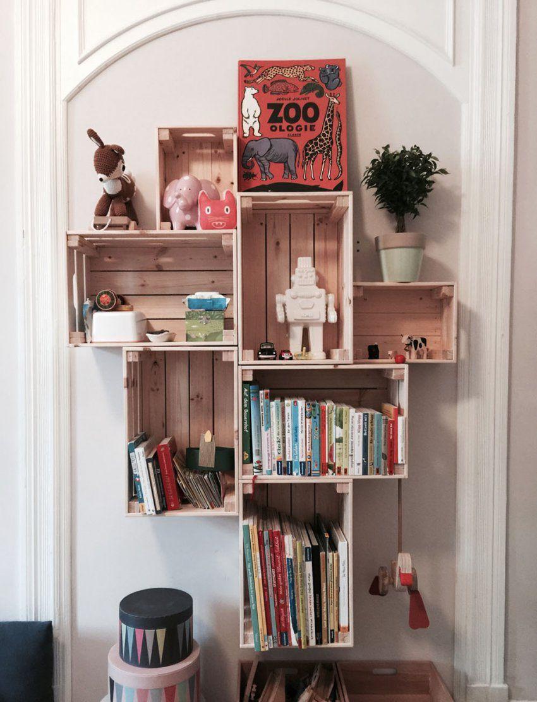 Diy  Das Perfekte Regal Im Kinderzimmer  Mummy Mag von Kinderzimmer Regal Mit Kisten Bild