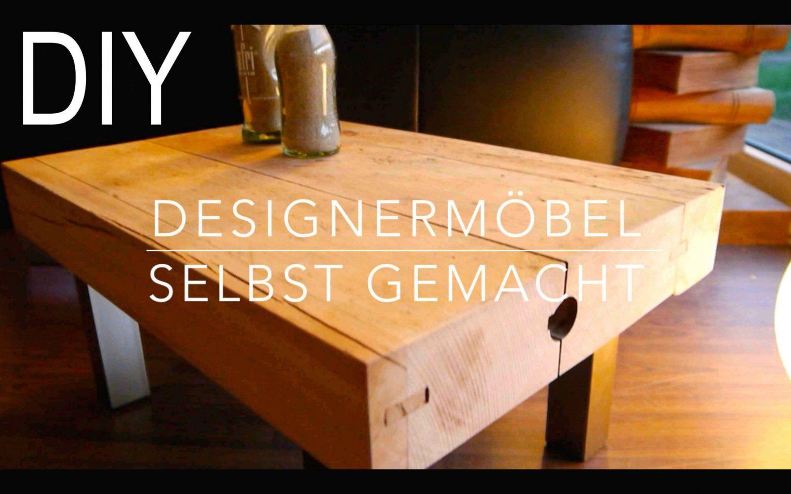 diy designer tisch hocker selber bauen anleitung youtube von