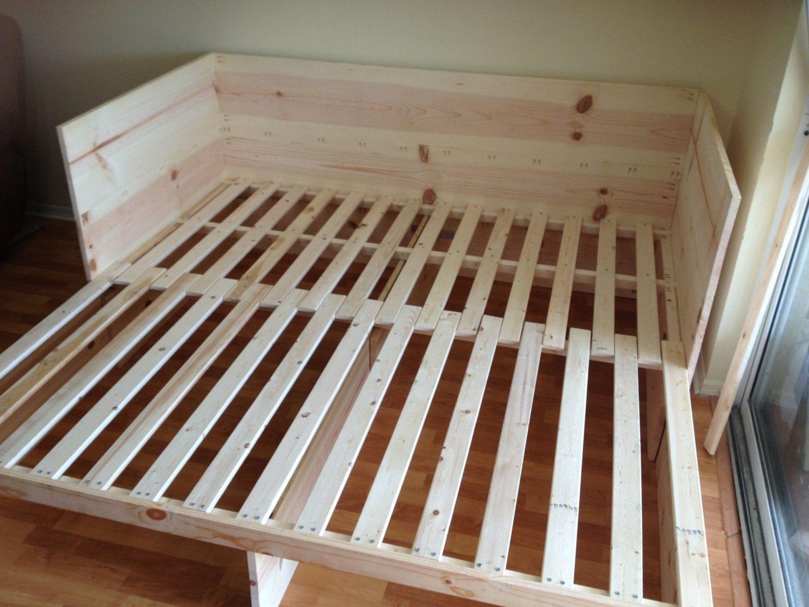 Diy Furniture I Möbel Selber Bauen I Couch Sofa Daybed I Inspiration von Camping Möbel Selber Bauen Bild