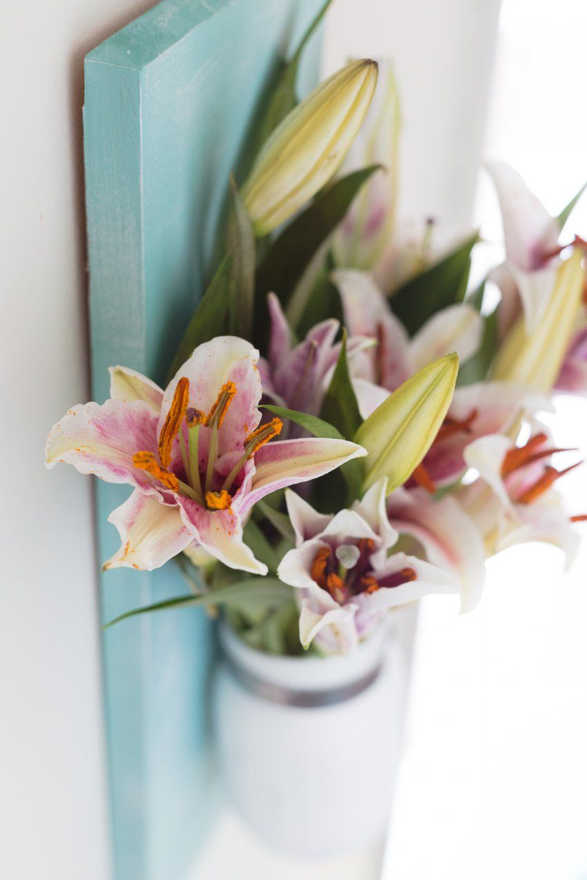 Diy Mason Jar Flower Vase  Made To Be A Momma von Mason Jar Flower Vases Photo