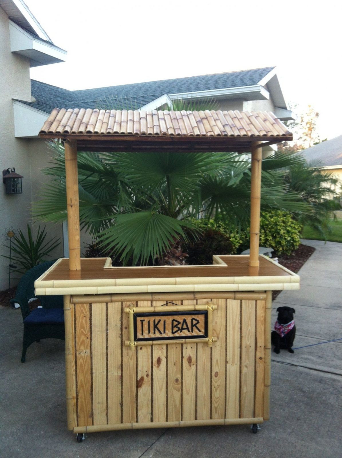 Diy Pallet Tiki Bar  Tiki Bars Pallets And Bar von Tiki Bar Selber Bauen Photo
