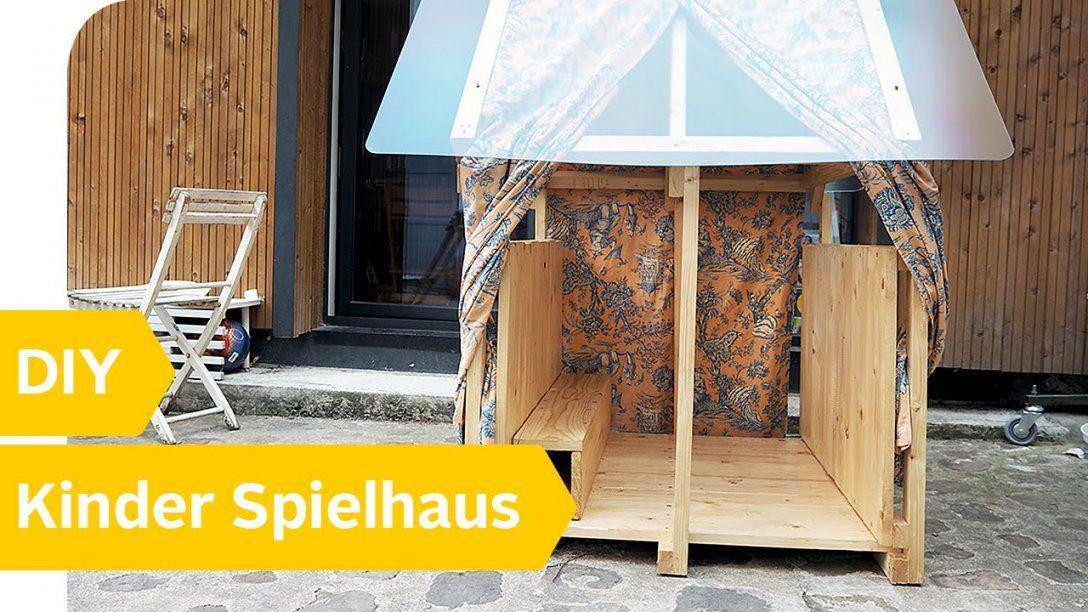 Diy Spielhaus Für Kinder – Holzhaus Ganz Einfach Selber Bauen von Spielhaus Kinder Selber Bauen Photo