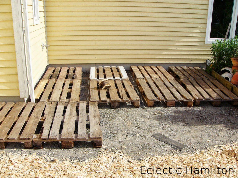 Diy Terrasse Aus Europaletten  Eclectic Hamilton von Terrasse Bauen Mit Europaletten Bild