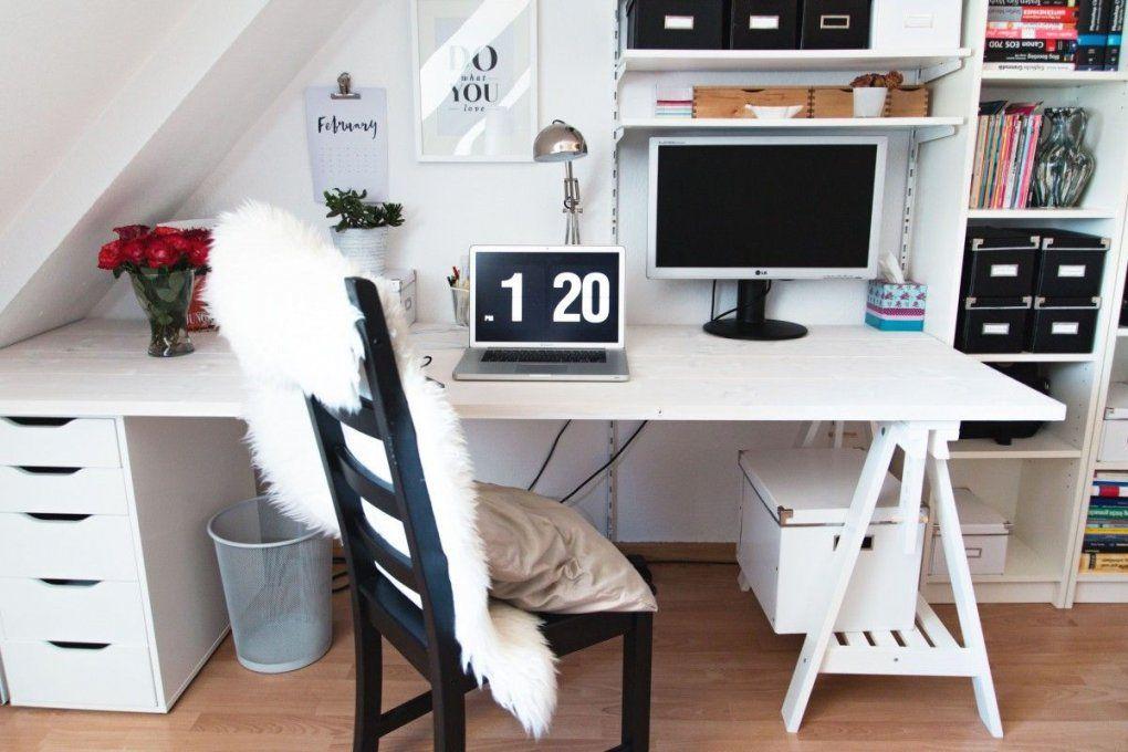 Diy Unser Neuer Schreibtisch  Budget Selber Bauen Und Schreibtische von Schreibtisch Für Kleines Kinderzimmer Photo