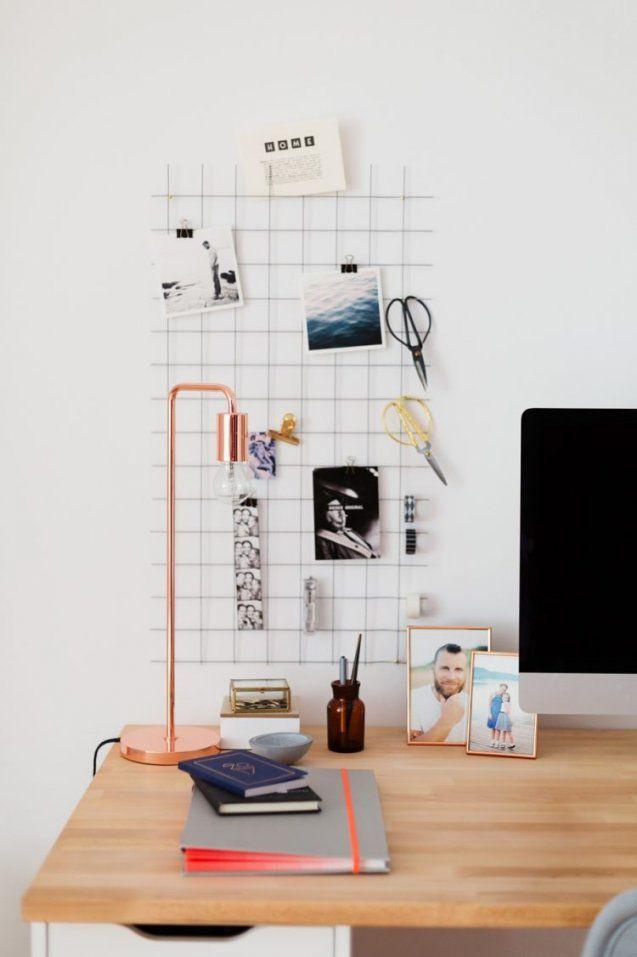 Diy Wandorganizer Für Mehr Ordnung Am Schreibtisch von Schreibtisch Organizer Selber Bauen Photo