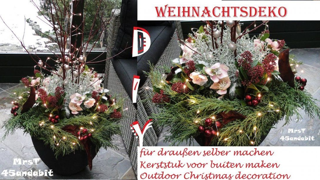 weihnachtsdeko drau en selber machen haus design ideen. Black Bedroom Furniture Sets. Home Design Ideas