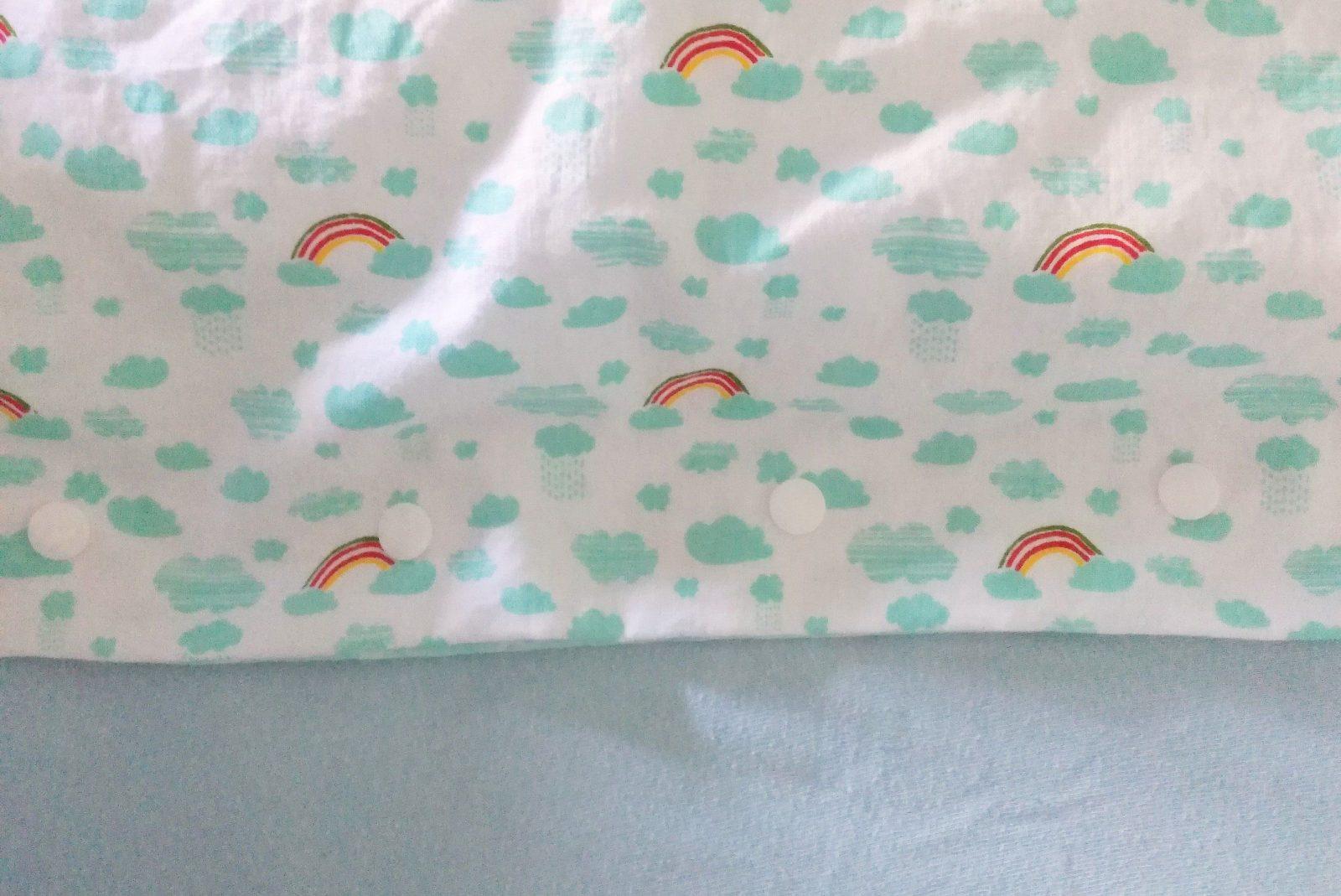 Diyanleitung Kinderbettwäsche Ganz Einfach Selber Nähen von Baby Bettwäsche Nähen Bild