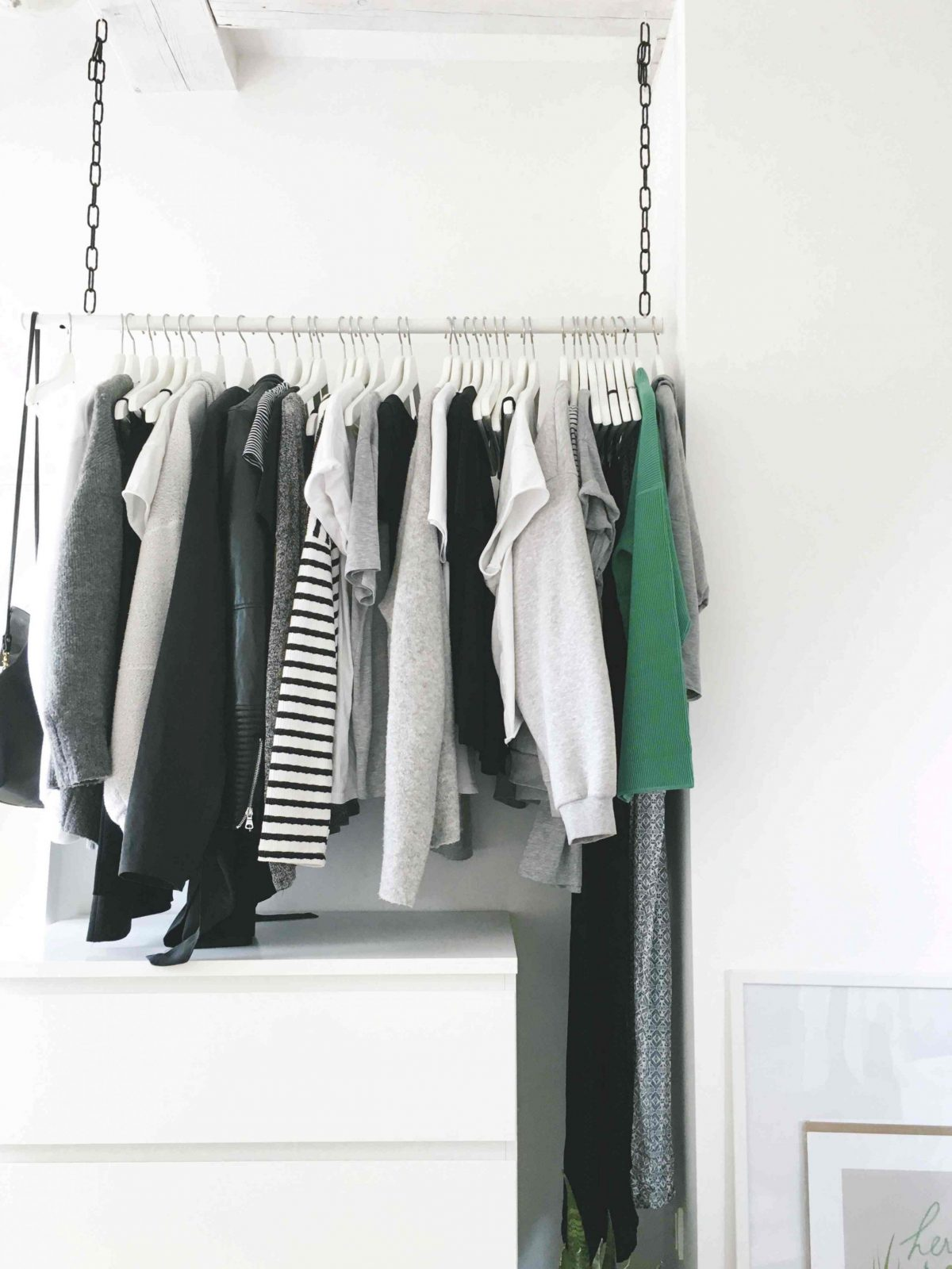Diykleiderstangedeckekette  Do & Live von Kleiderstange Von Der Decke Photo