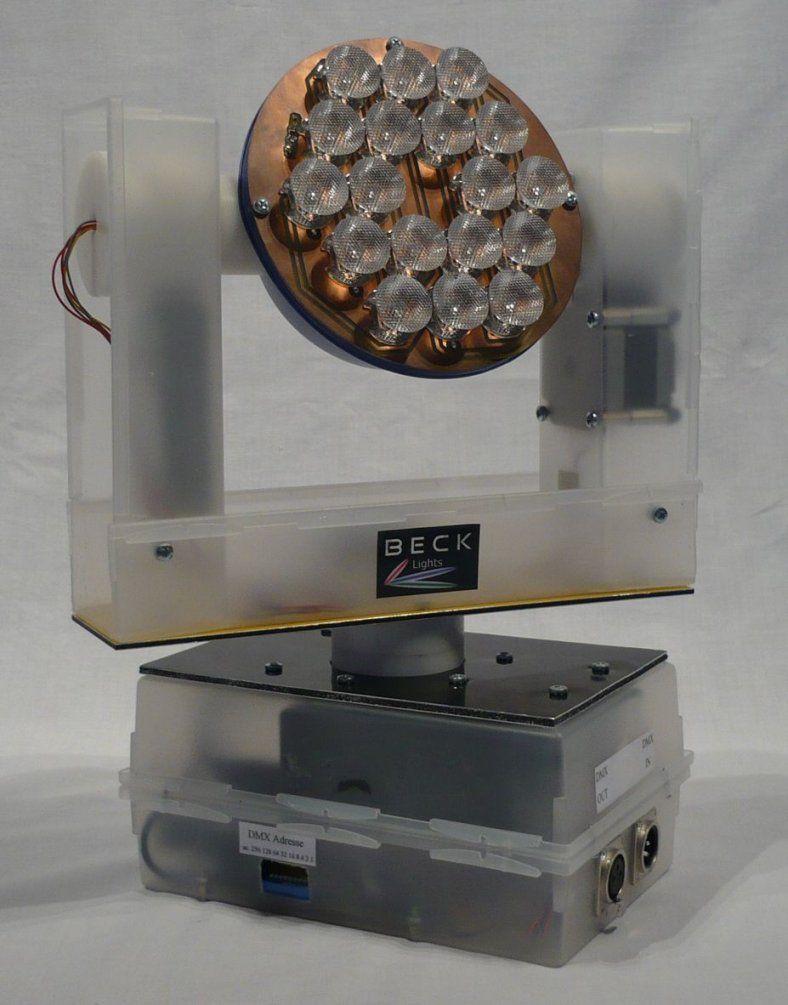 Dmx Schrittmotor Steuerung  Mikrocontroller von Moving Head Selber Bauen Photo