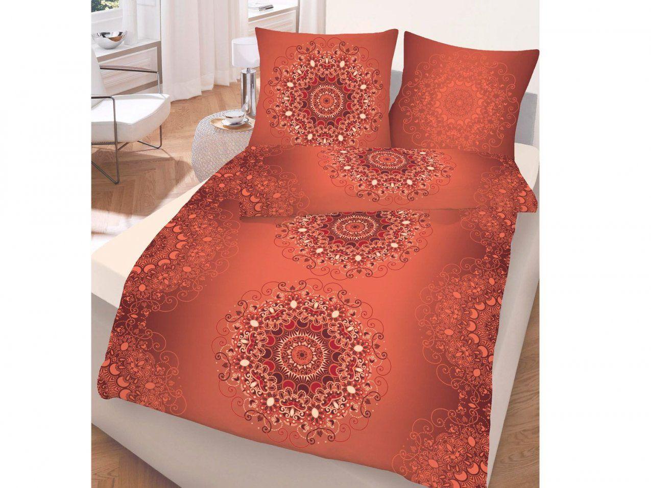 Dobnig Biberbettwäsche Orient Pastellorange 135 X 200 Cm  Lidl von Biber Bettwäsche Orange Photo
