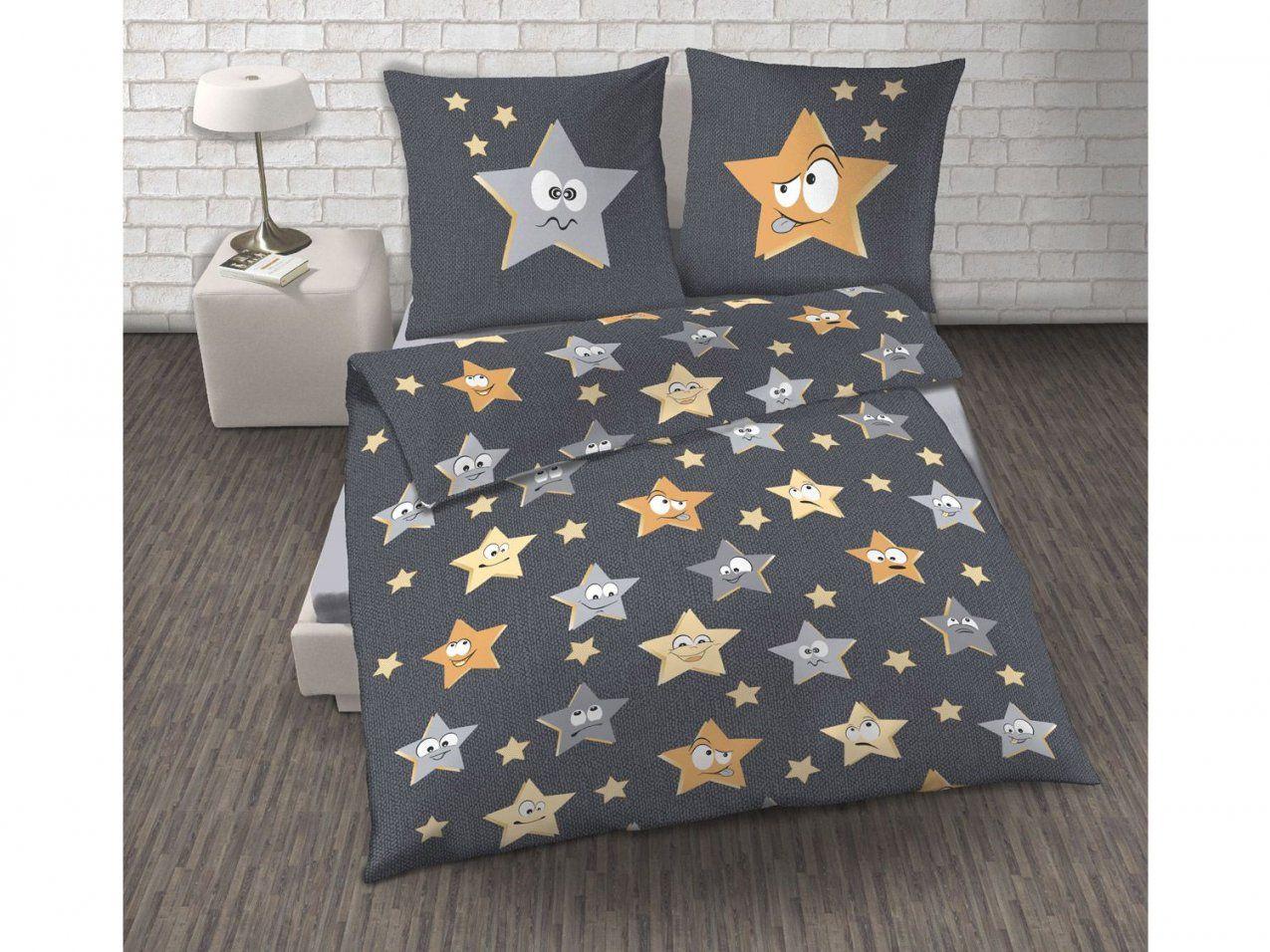 Dobnig Biberbettwäsche Sternedesign  Lidl Deutschland  Lidl von Biber Bettwäsche Mit Sternen Bild