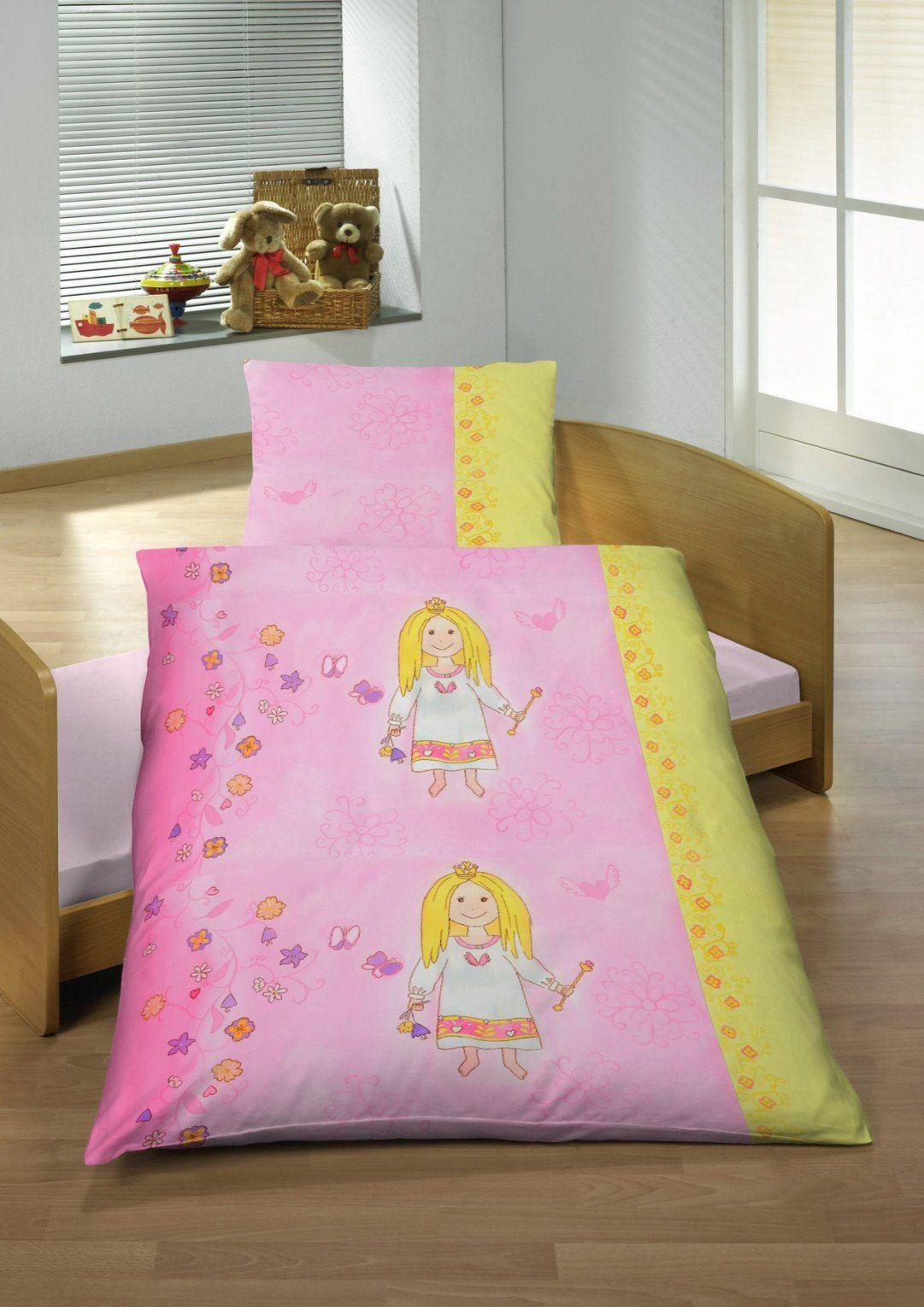 Dobnig Ido Baby Renforce Bettwäsche Kleine Prinzessin In Rosa von Kleine Prinzessin Bettwäsche Bild