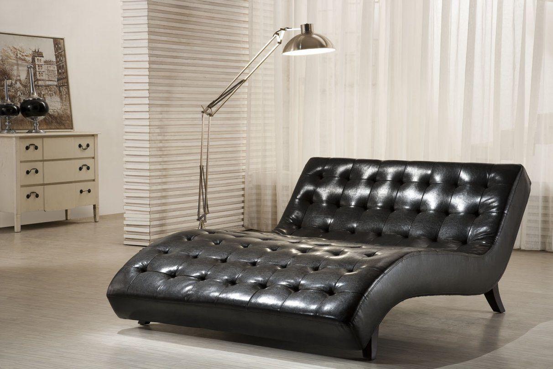 relaxliege gertrica in schwarz drehbar pharao24de von. Black Bedroom Furniture Sets. Home Design Ideas