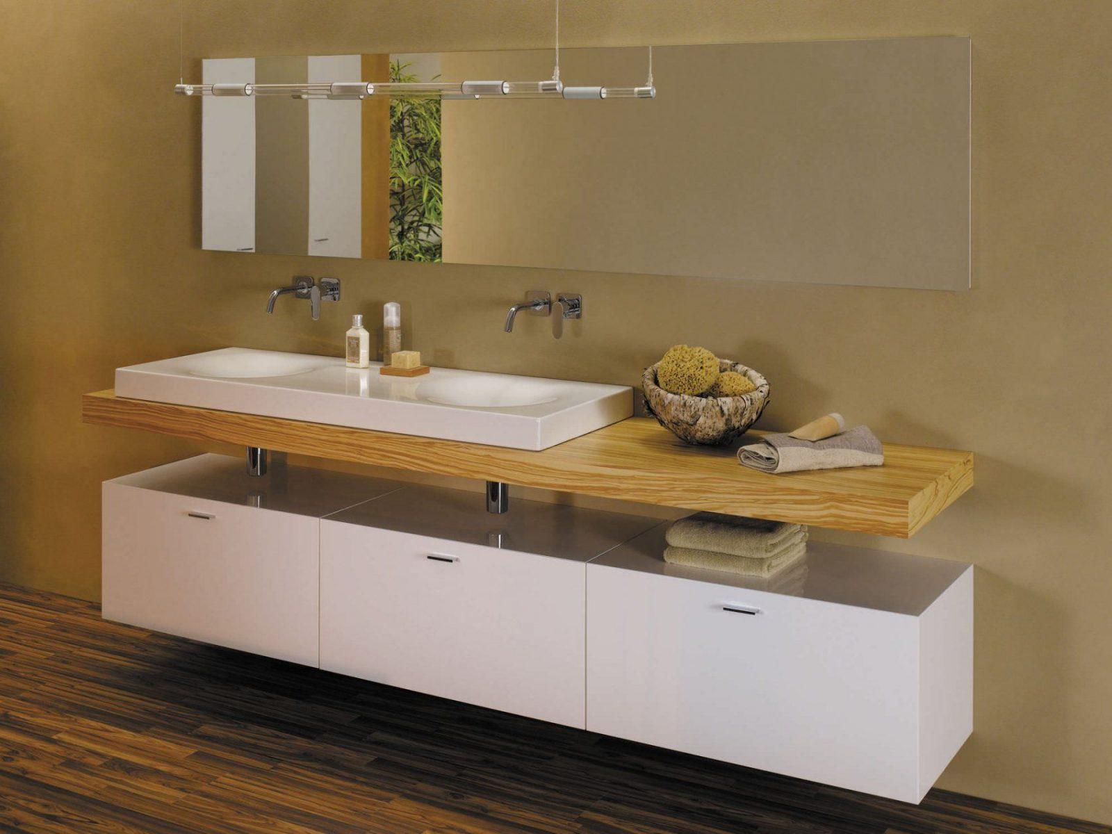 Doppeltes Waschbecken Aufsatz Rechteckig Keramik Bettebowl von Doppeltes Waschbecken Mit Unterschrank Photo