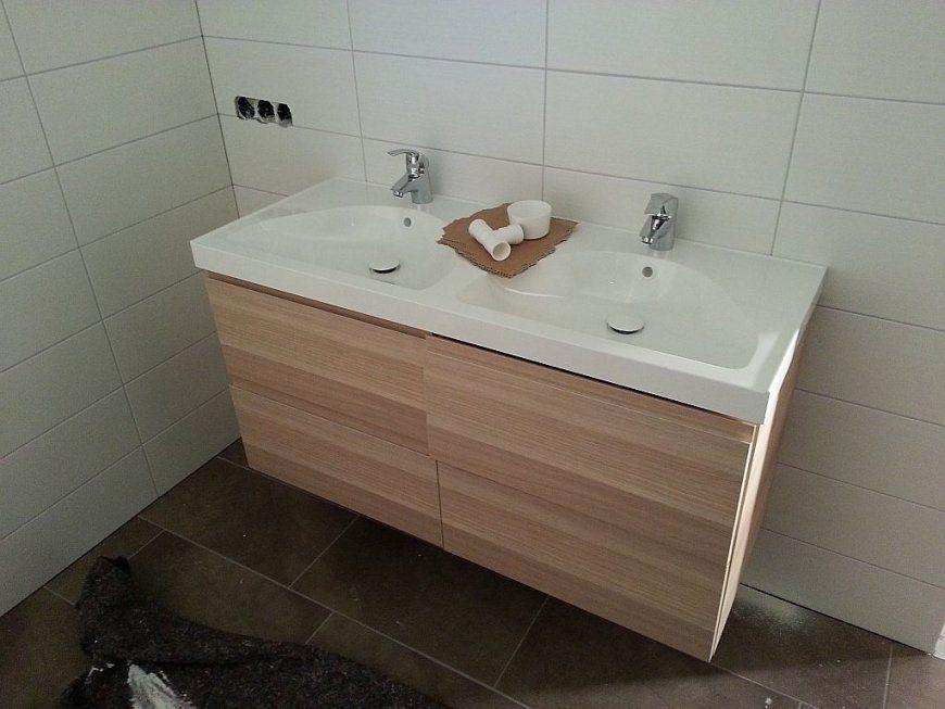 Doppelwaschbecken Mit Unterschrank Ikea  Gispatcher von Doppelwaschtisch Mit Unterschrank Ikea Bild