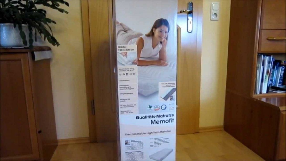 Dormia Memofit Qualitätsmatratze Von Aldi * Erste Eindrücke von Aldi Matratze Dormia Bild