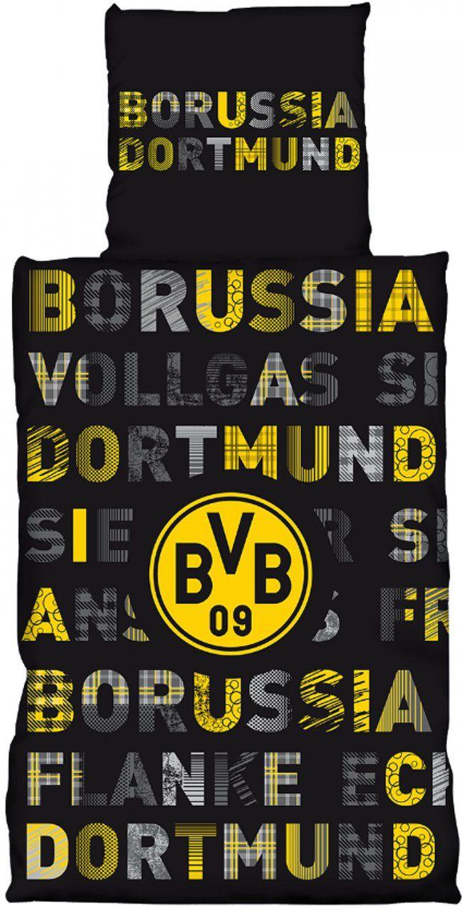 Dortmund Bettwäsche Vollgas 135X200Cm von Bvb Bettwäsche Biber Photo