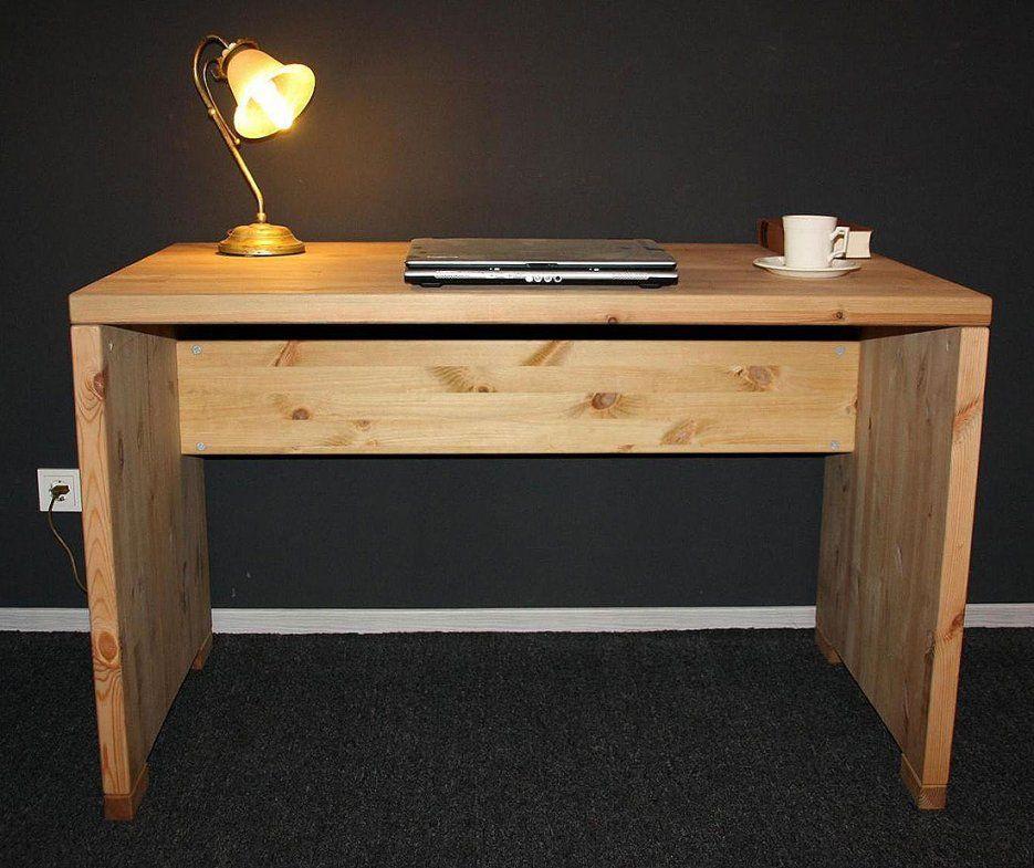 Download Schreibtisch Naturholz  Indoo Hausdesign von Schreibtisch Kiefer Massiv Gelaugt Geölt Bild