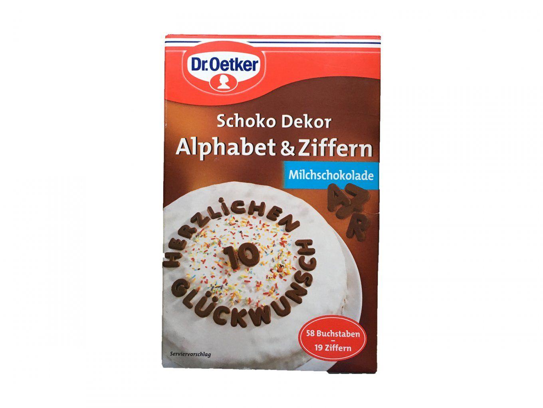 Dr Oetker Deko Buchstaben Und Ziffern – Kjero von Dr Oetker Kuchen Deko Photo