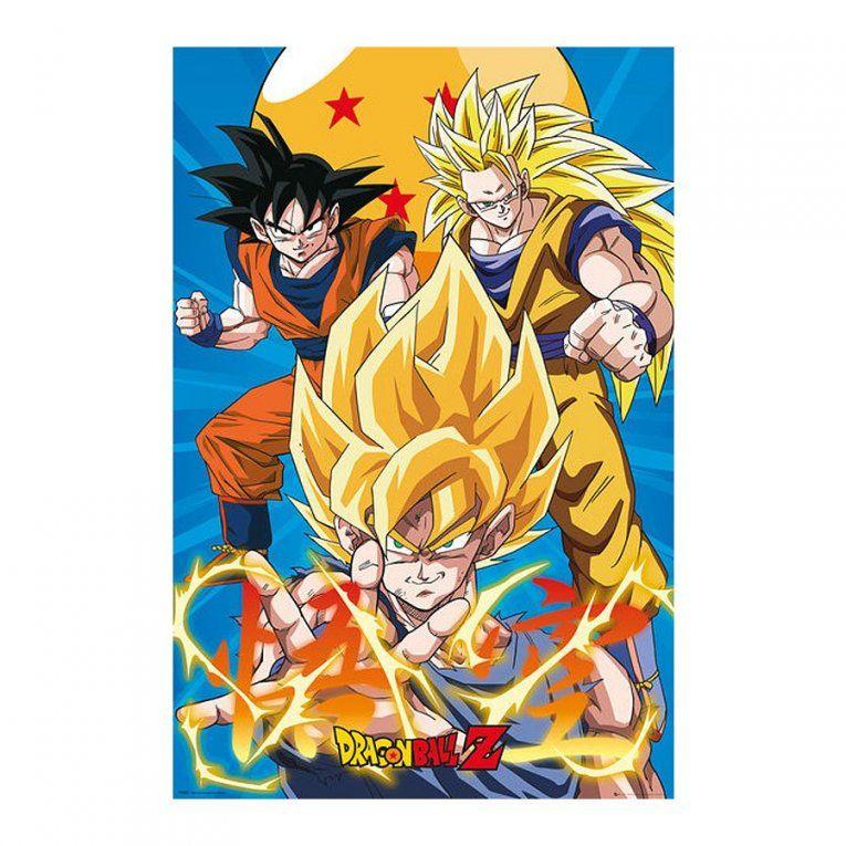 Dragon Ball Z Poster 3 Gokus Evo  Poster Großformat Jetzt Im Shop von Dragonball Z Bettwäsche Photo