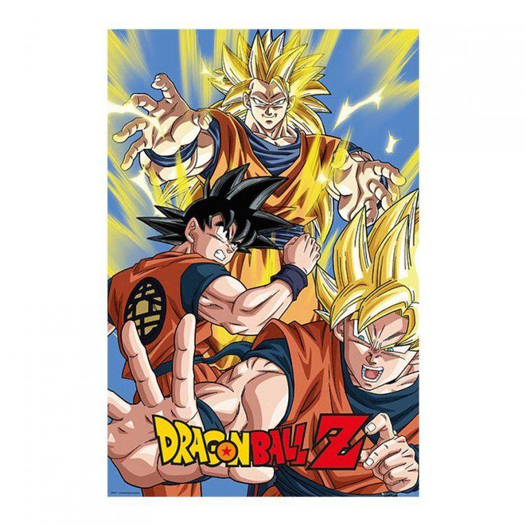 Dragonball Z Poster Goku 61X 915Cm von Dragonball Z Bettwäsche Photo