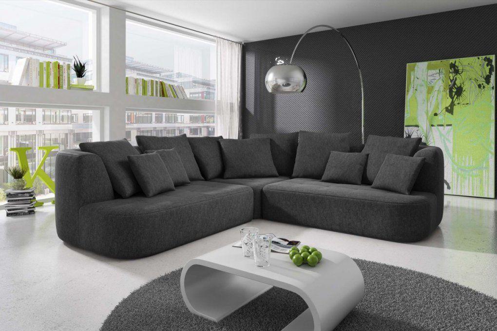 """Dreams4Home Ecksofa """"sigi""""  Couch Sofa Ecksofa Wohnzimmer von Anthrazit Couch Wohnzimmer Farbe Bild"""