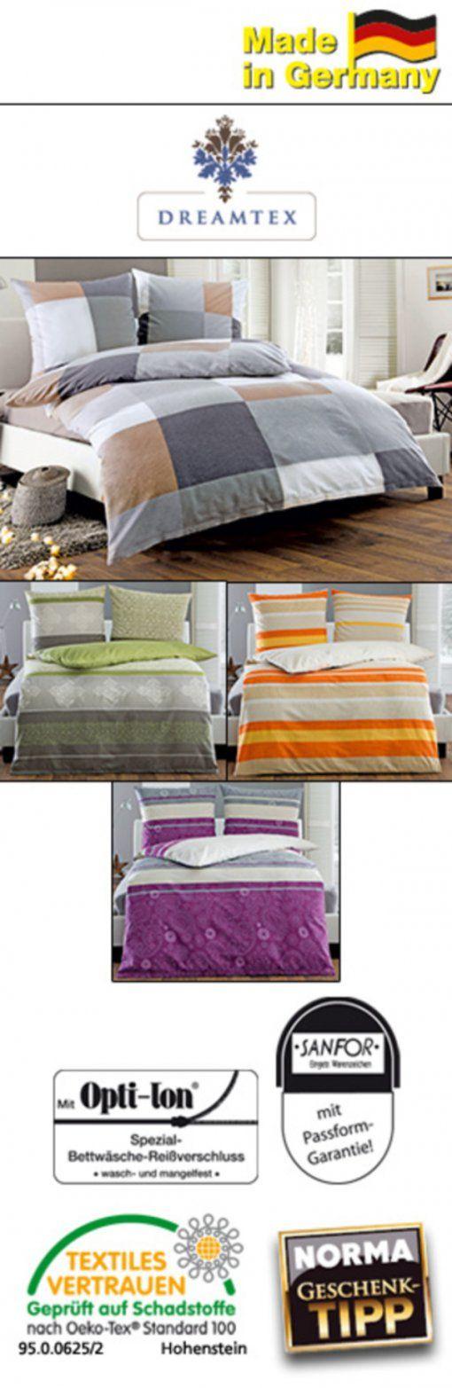 Dreamtex Feinbiberbettwäsche Ca 155 X 220 Cm Von Norma Ansehen von Dreamtex Nicki Bettwäsche Bild