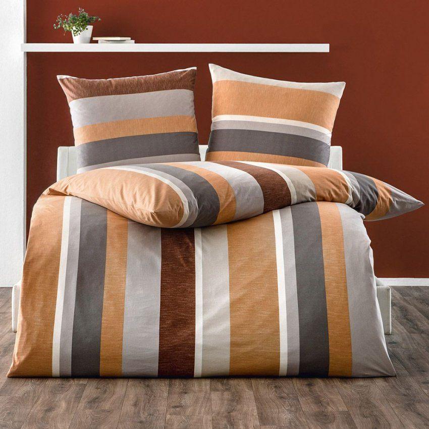 Dreamtex Jerseybettwäsche Ca 135 X 200 Cm Texturize Copper von Dreamtex Nicki Bettwäsche Photo