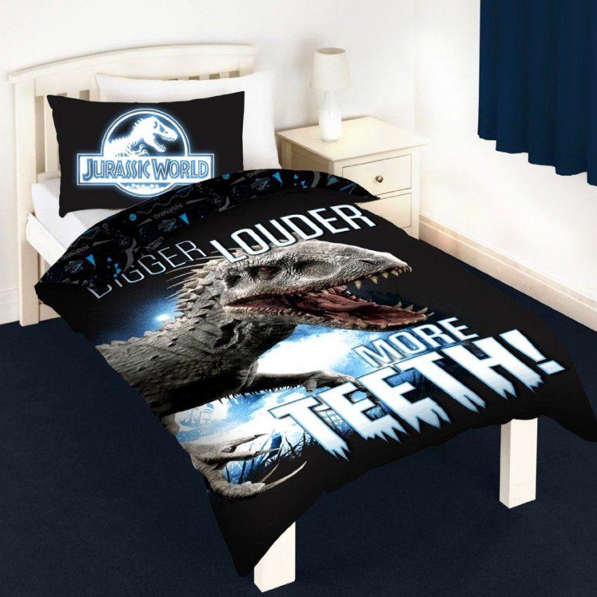 Dreamtex Jurassic World Kinderbettwäsche Leuchtet Im Dunkeln von Bettwäsche Leuchtet Im Dunkeln Photo
