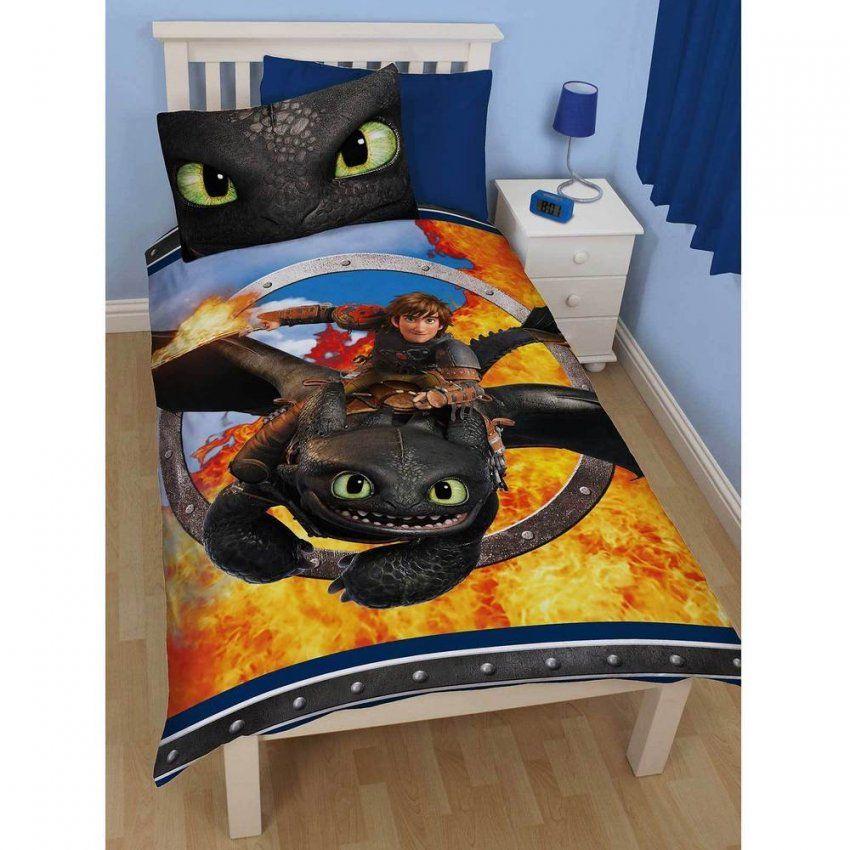 Dreamworks Dragons Bettwäsche Ohnezahn Drachenzähmen Leicht Gemacht von Drachenzähmen Leicht Gemacht Bettwäsche Bild