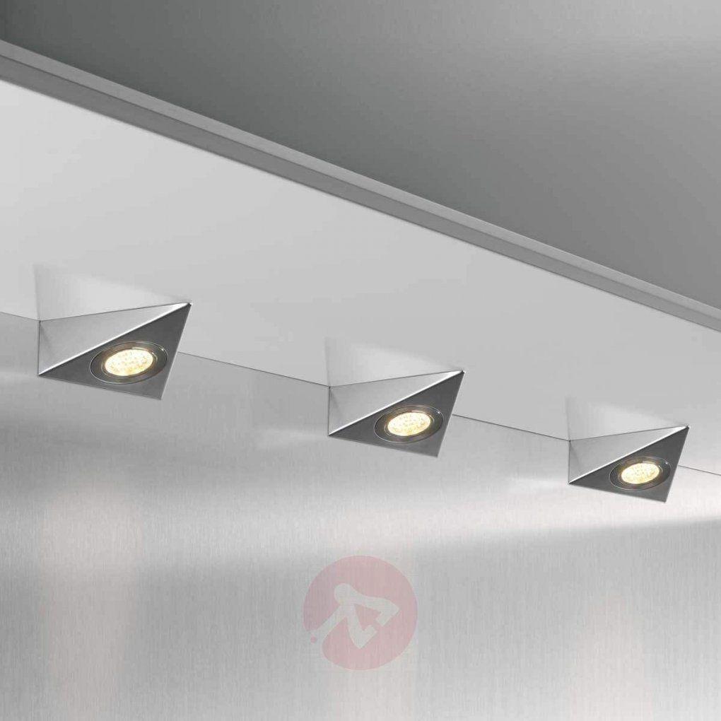 Dreieckige Ledunterbauleuchte Dhl C 3Erset Kaufen  Lampenwelt von Led Küchen Unterbauleuchte Mit Sensor Photo