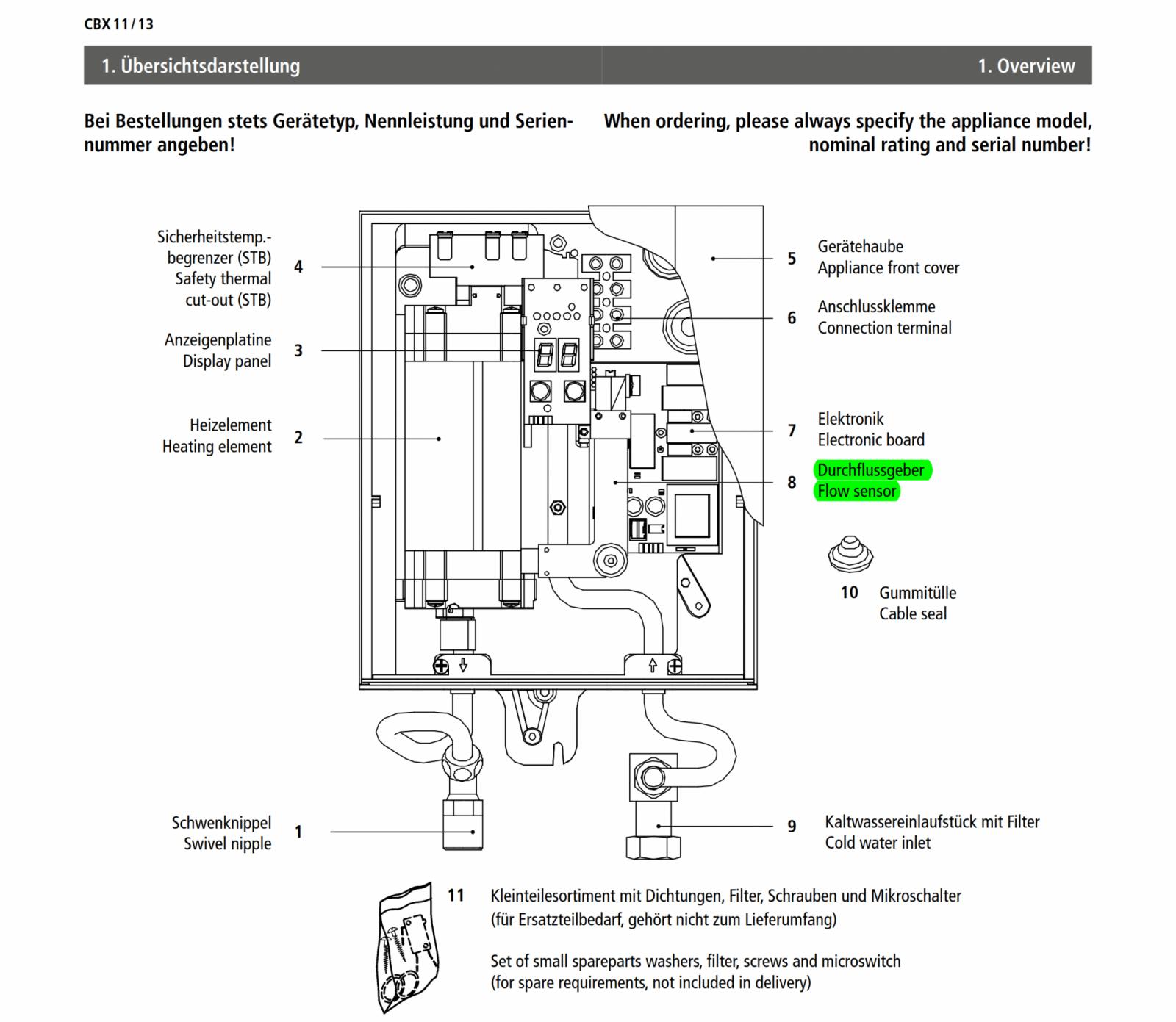 Druckfesten Mini Durchlauferhitzer An Niederdruckarmatur von Durchlauferhitzer Niederdruck Oder Hochdruck Photo